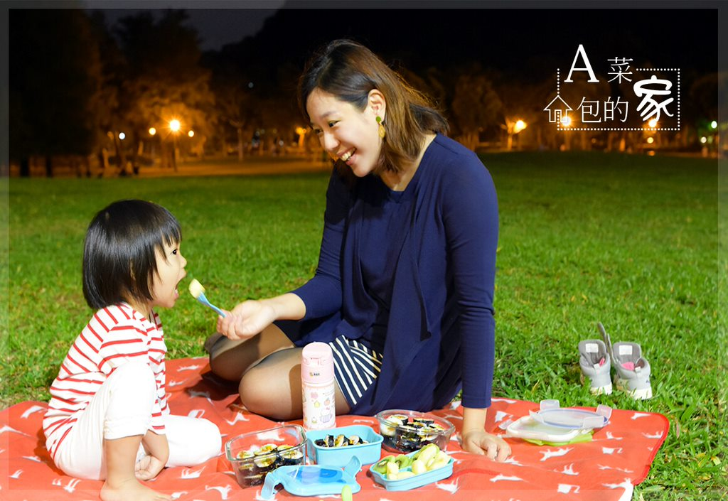 美國Green Sprouts隨身攜帶野餐盒 及 寶寶學習吃飯湯匙叉子